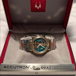Bulova 1963 Accutron 214 Spaceview 10K gold filled